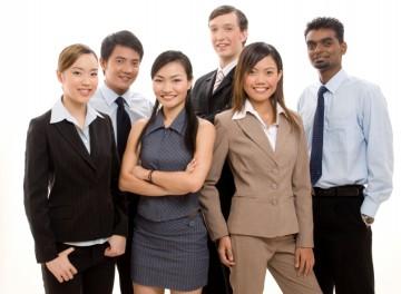 Happy Business Team 2